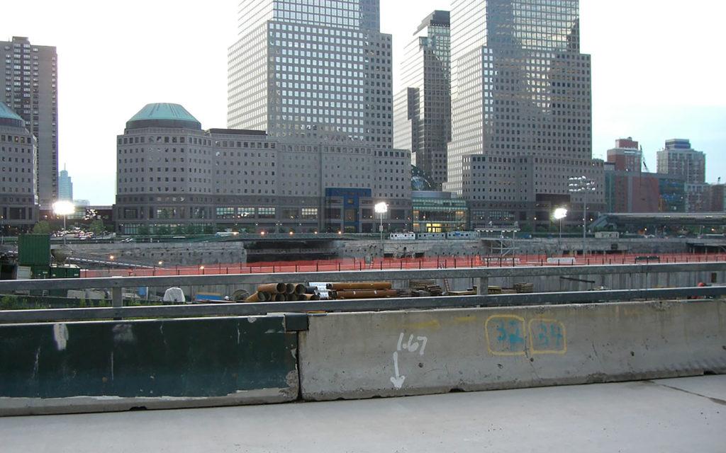 Ground Zero in New York City.