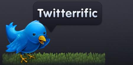 Das kostenlose App Twitterrific für das iPhone