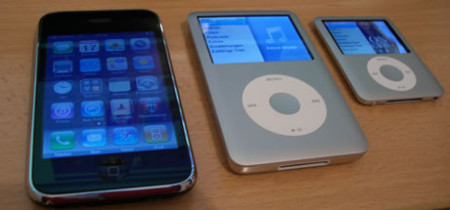 iPhone 3G, iPod classic und iPod nano