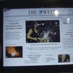 """Die Zeitung """"Die Welt"""" als Probeexemplar auf dem iPad."""