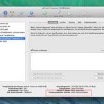 Für den Mac formatierte Datenträger, verwenden die GUID-Partitionstabelle.