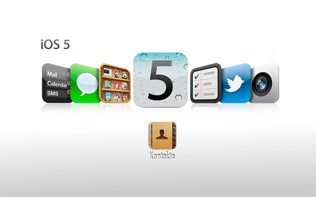 Apple iOS5 Kontakte