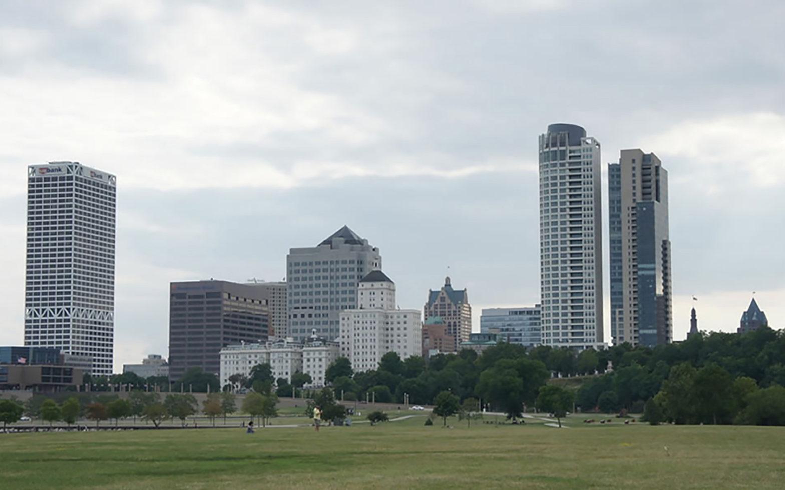 Skyline von Milwaukee