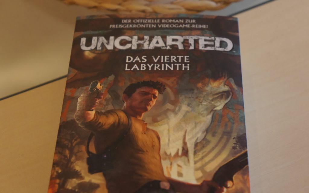 Uncharted: Das vierte Labyrinth - Der Roman zur Videospielereihe