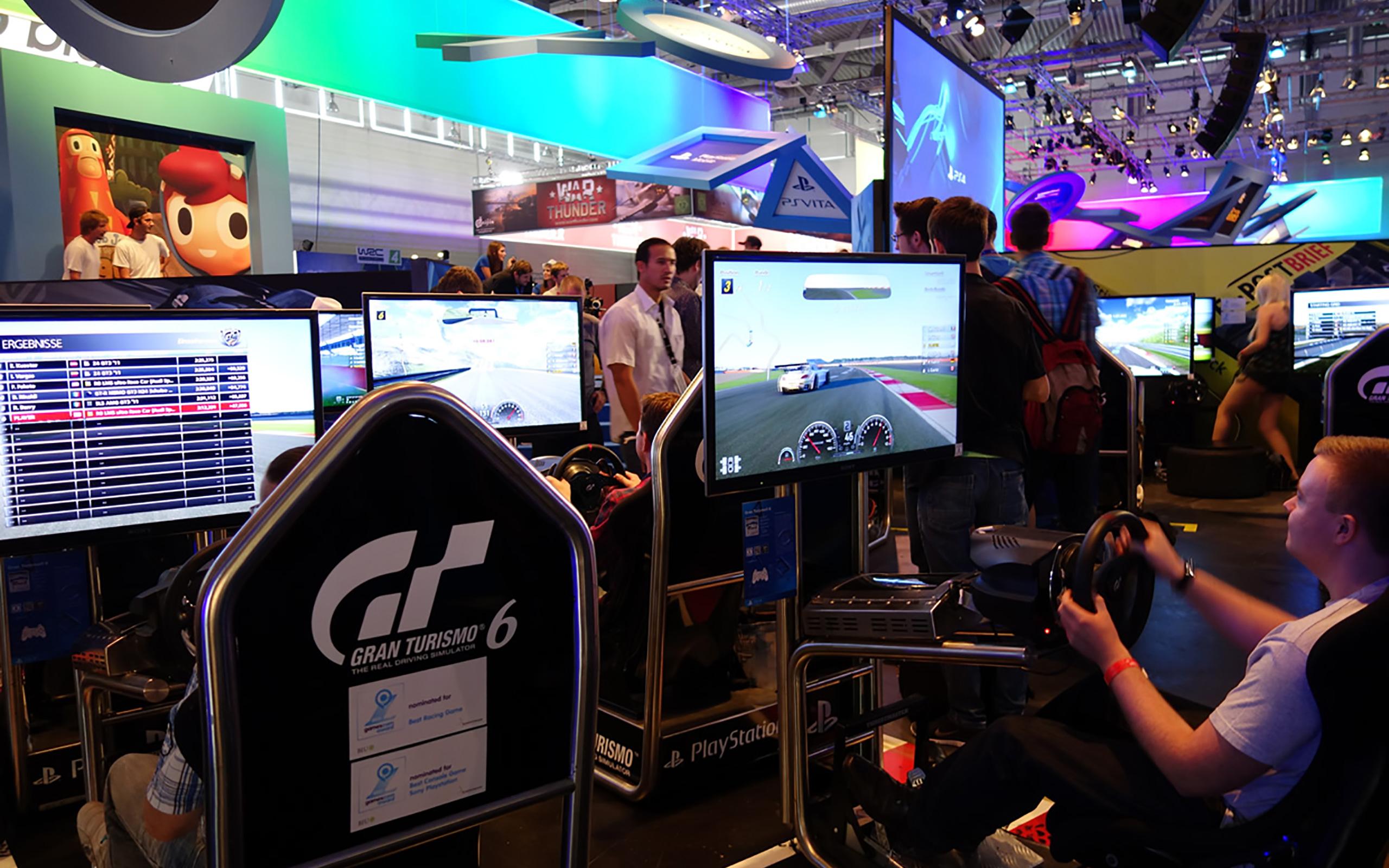 PlayStation, Halle 7, Gran Turismo 6