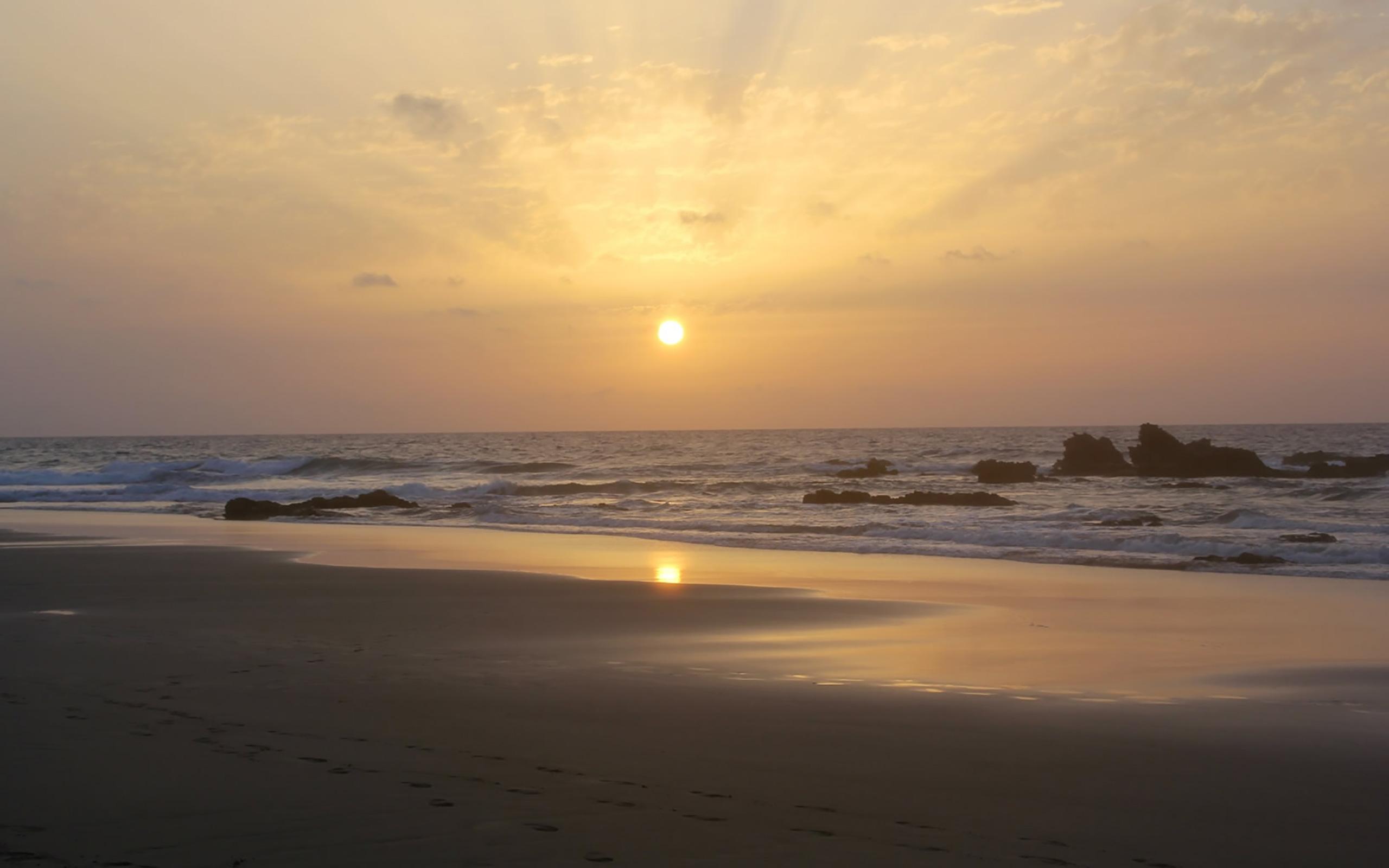 Die schönsten Sonnenuntergänge gibt es in La Pared.