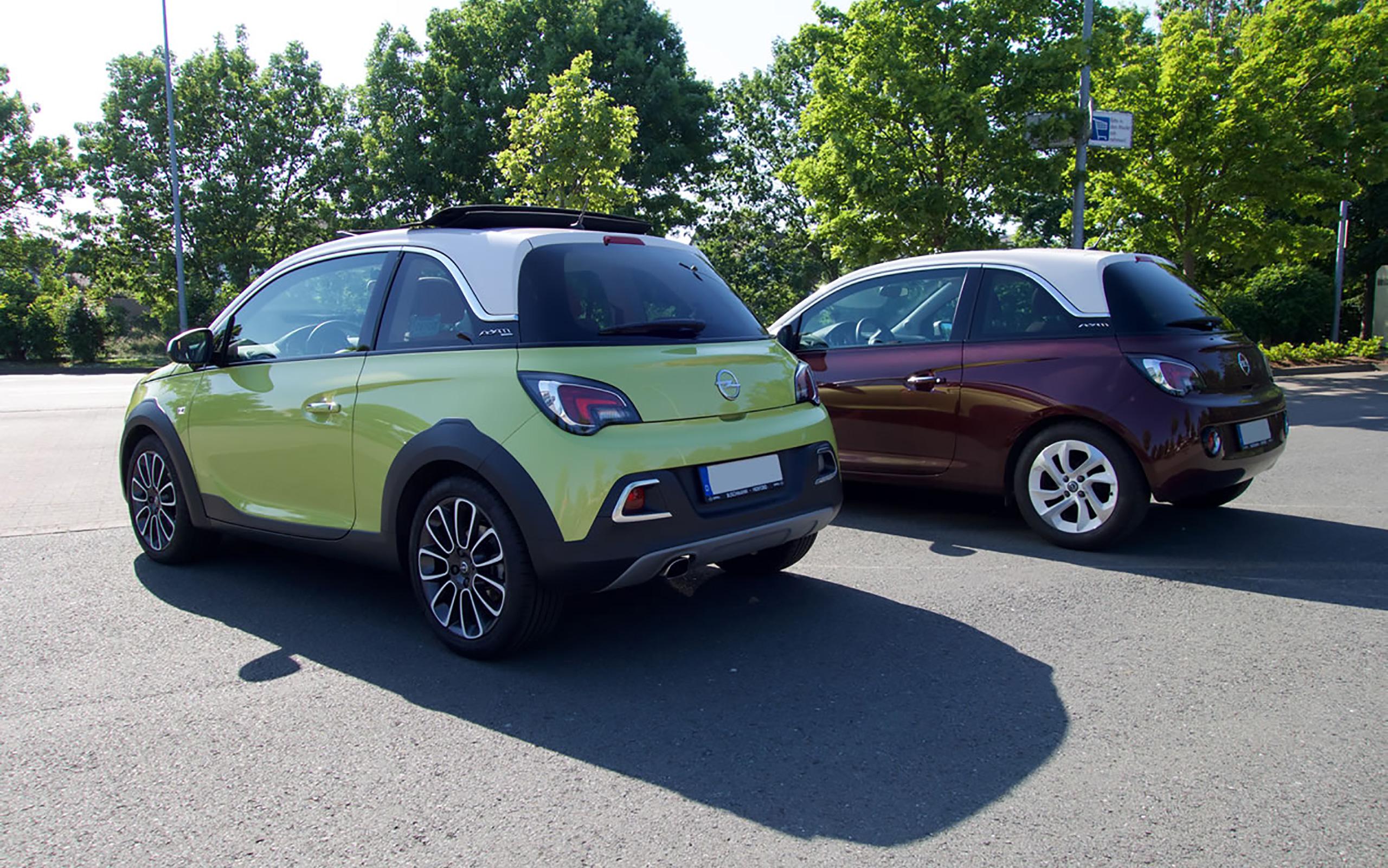 Opel ADAM vs. Opel ADAM Rocks