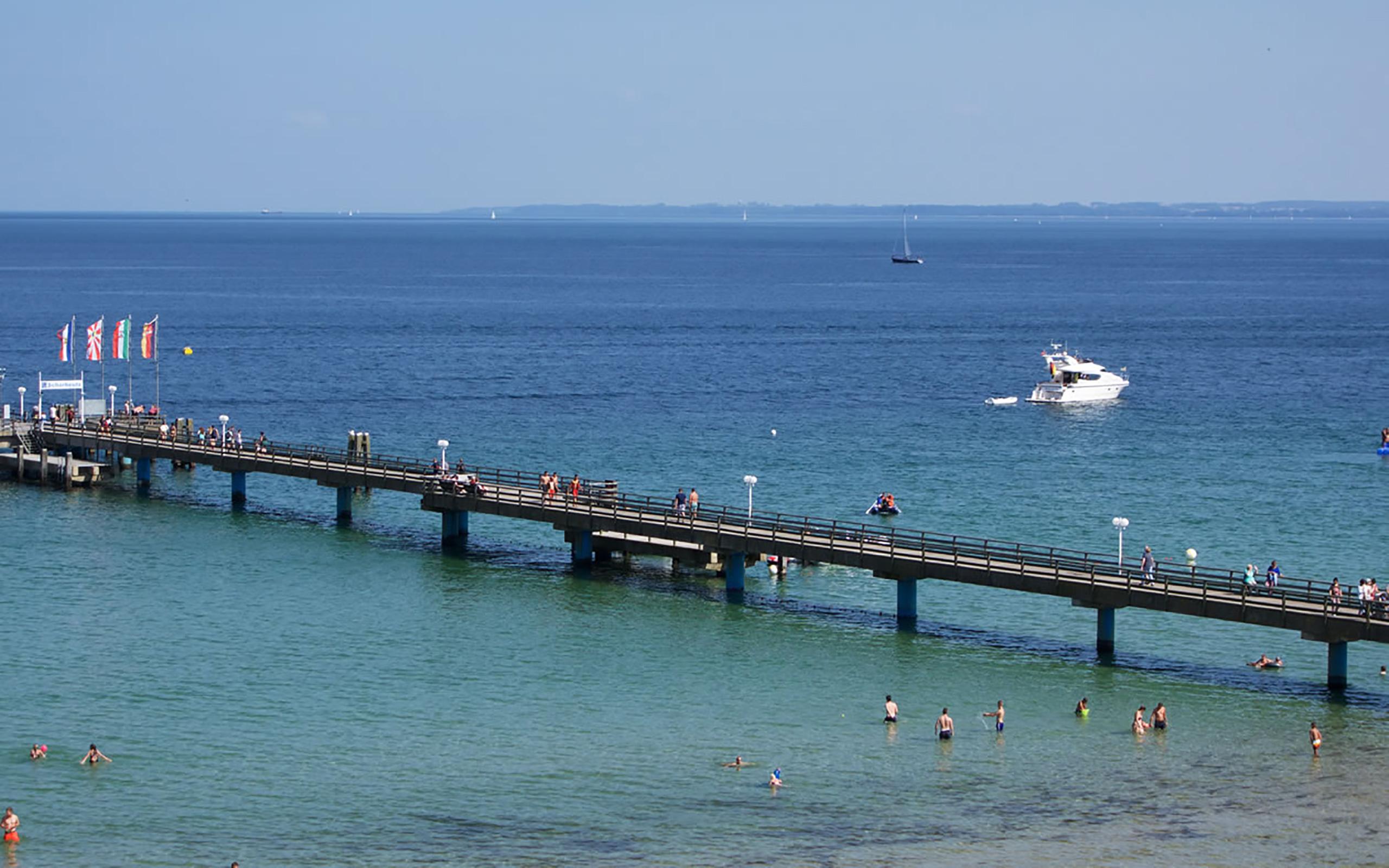 Seebrücke in Scharbeutz