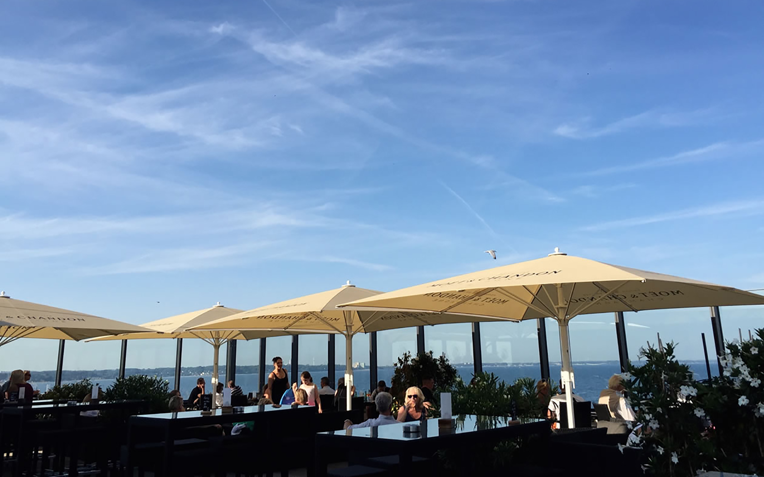 Dachterrasse ROOF Bar im BAYSIDE