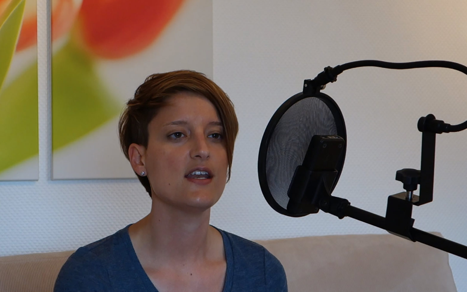 """Apogee One Audiotest """"Pendel"""" Yvonne Catterfeld"""
