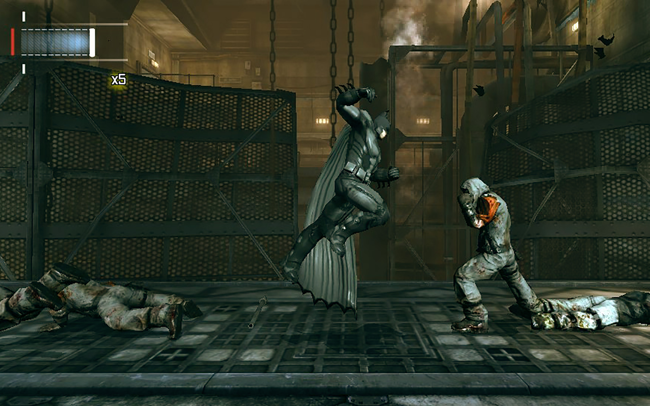 Das altbekannte Freeflow-Kampfsystem funktioniert auch auf der PS Vita.