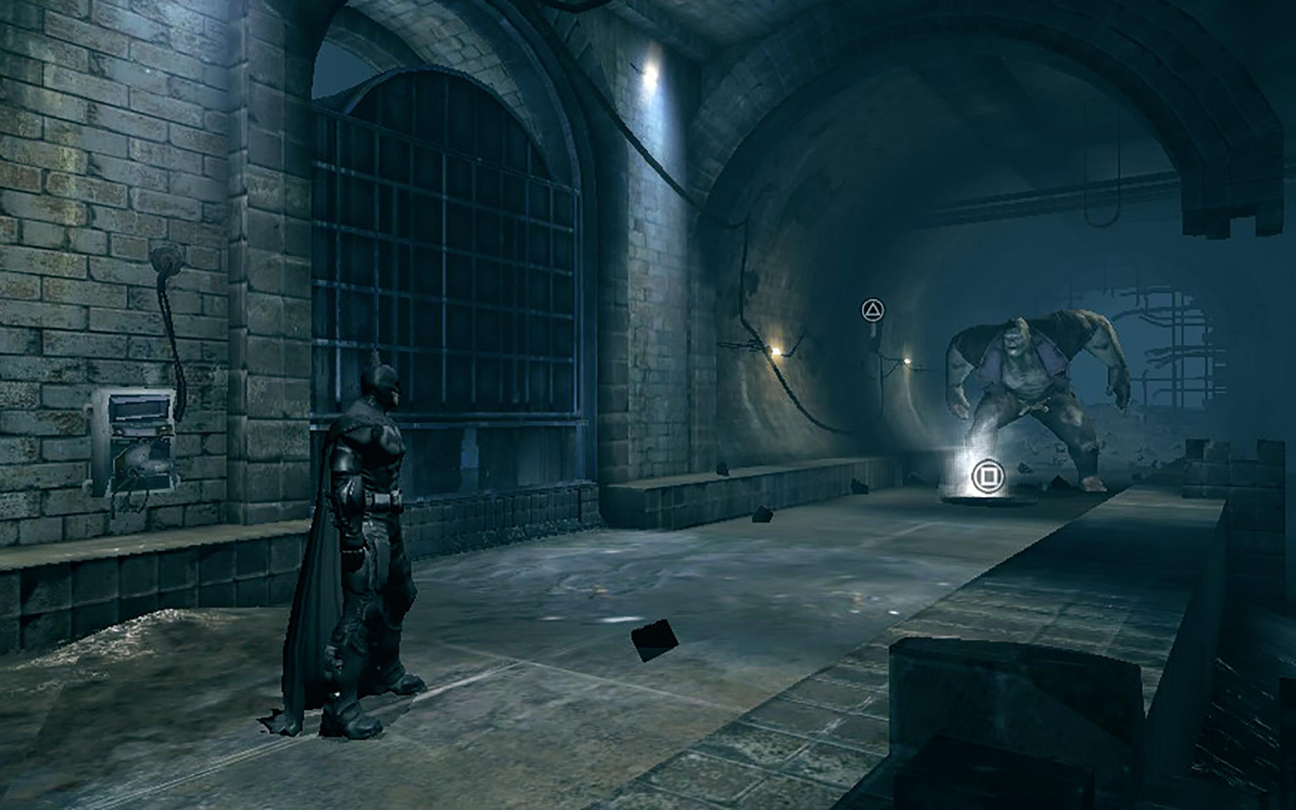 Batman im Kampf gegen Grundy.