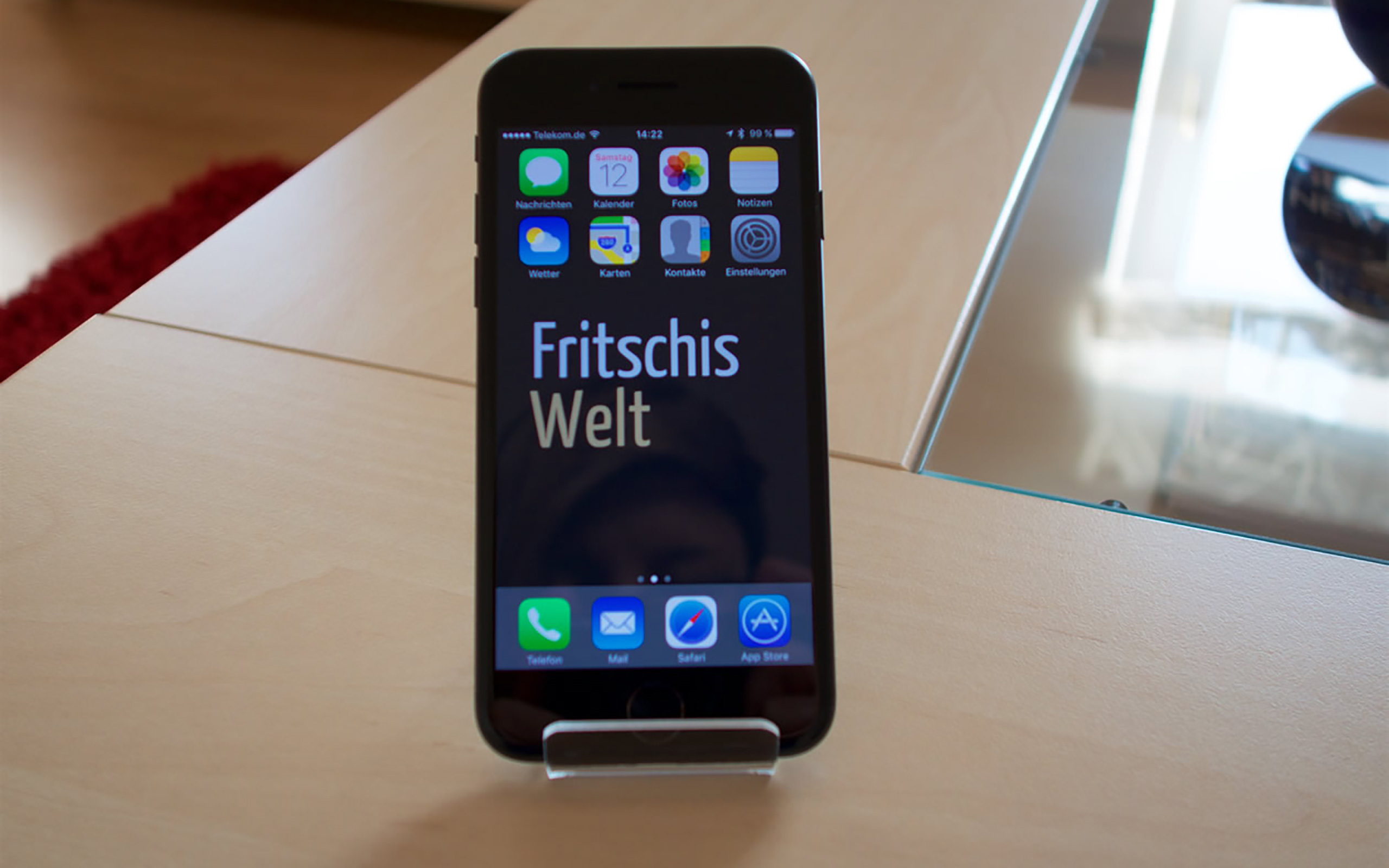 Apple iPhone 7, 128 GB, schwarz