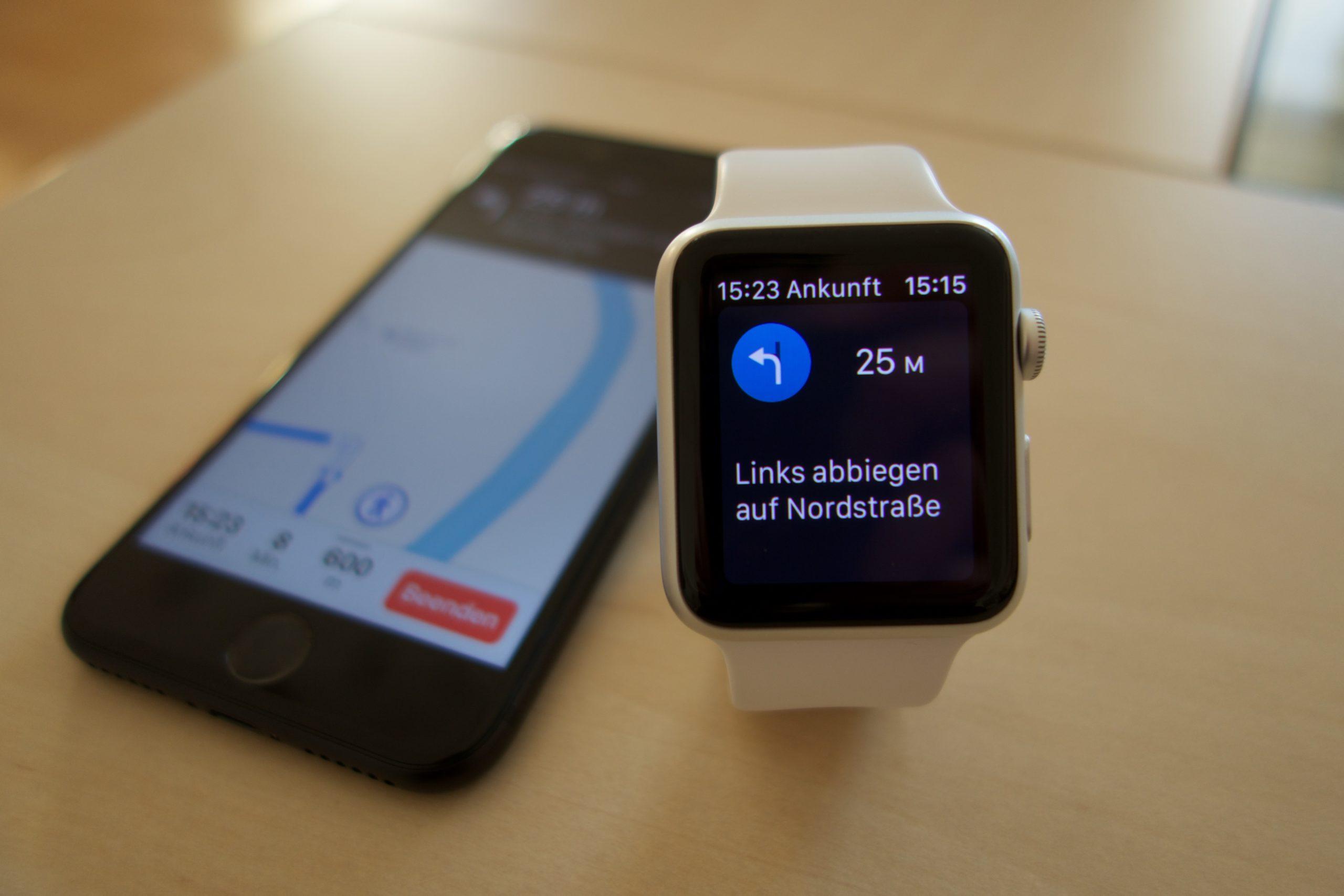 Navigation per Apple Watch.