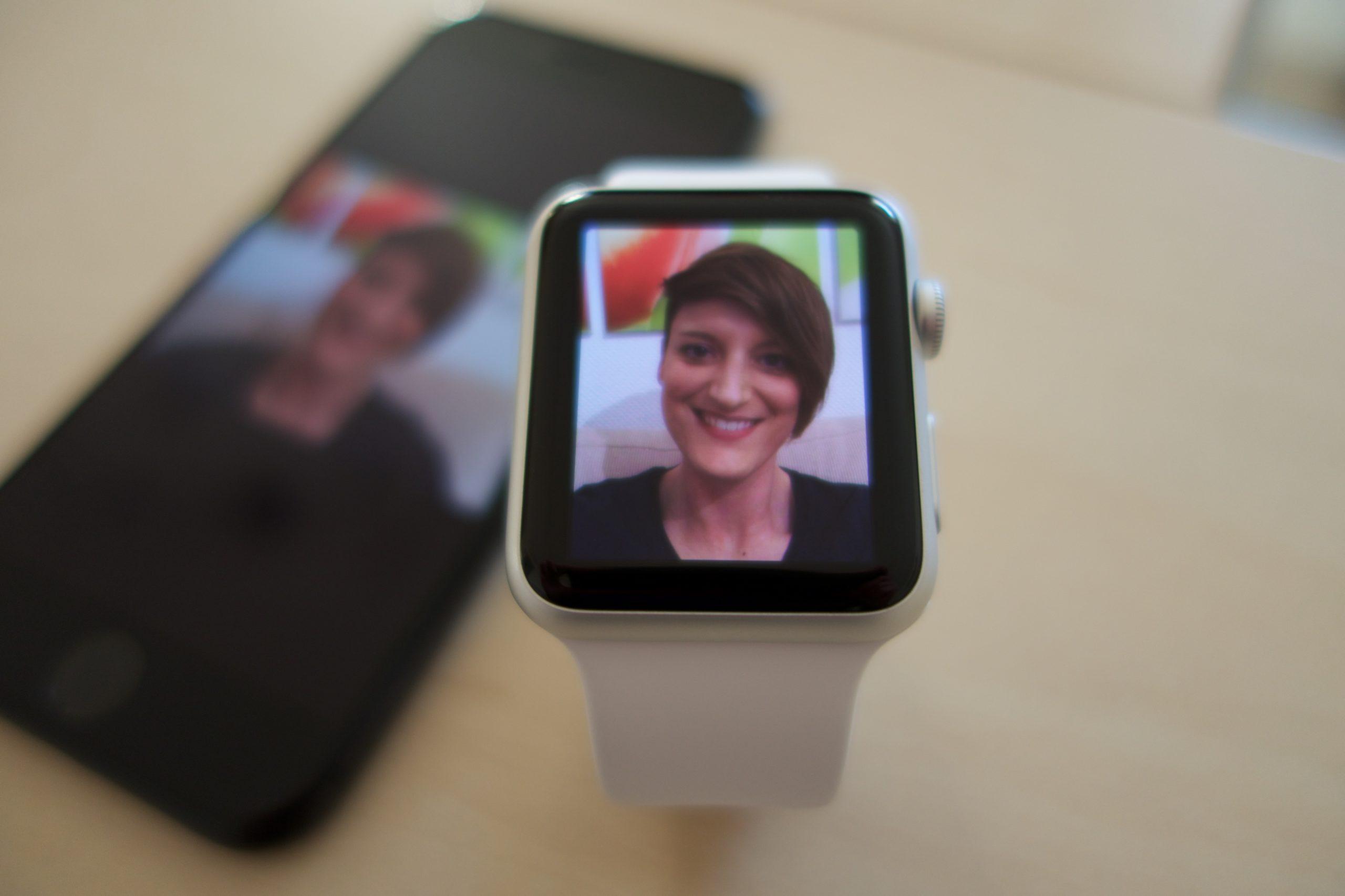 Fotos auf der Apple Watch.