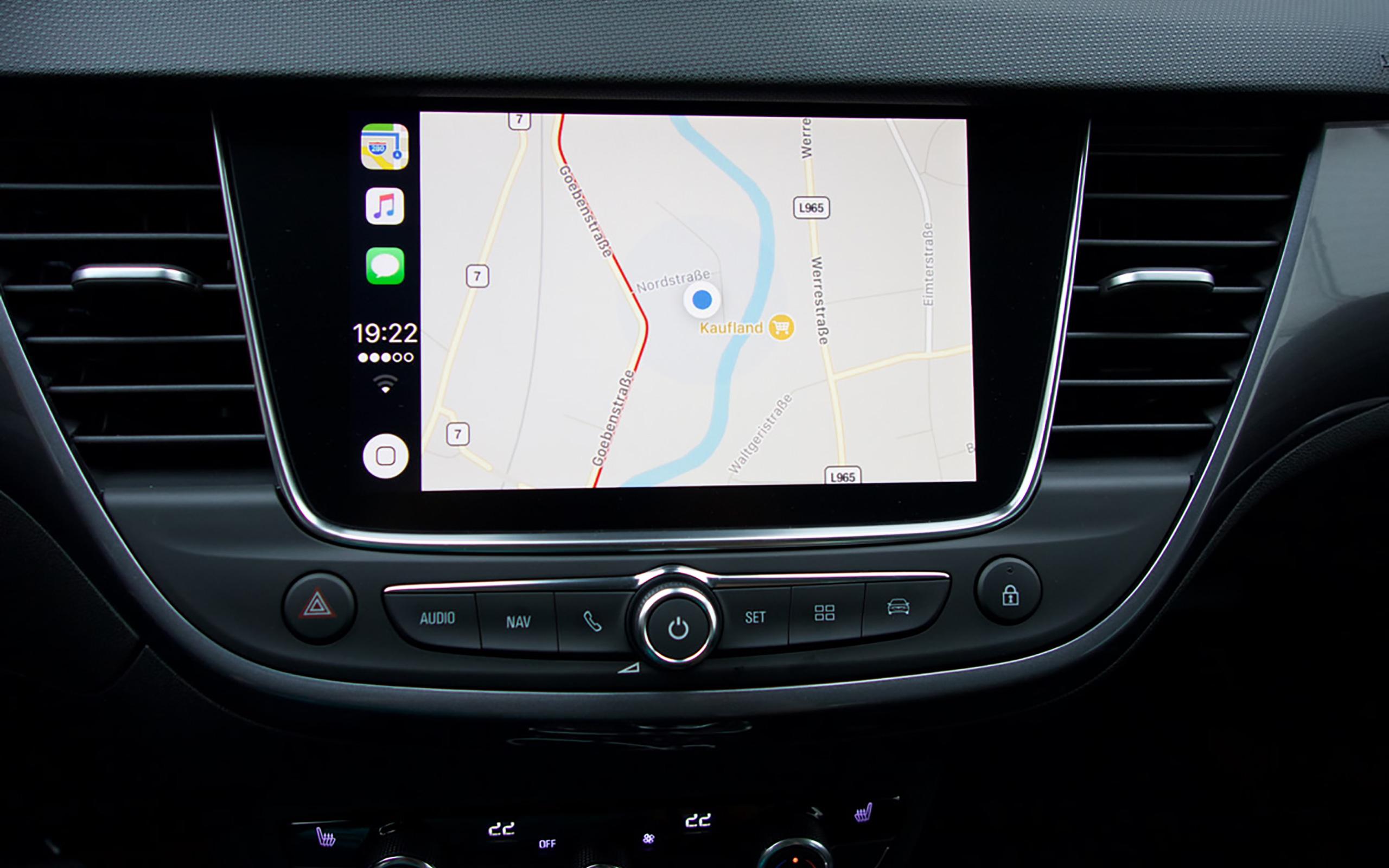 Navigation über Apple CarPlay