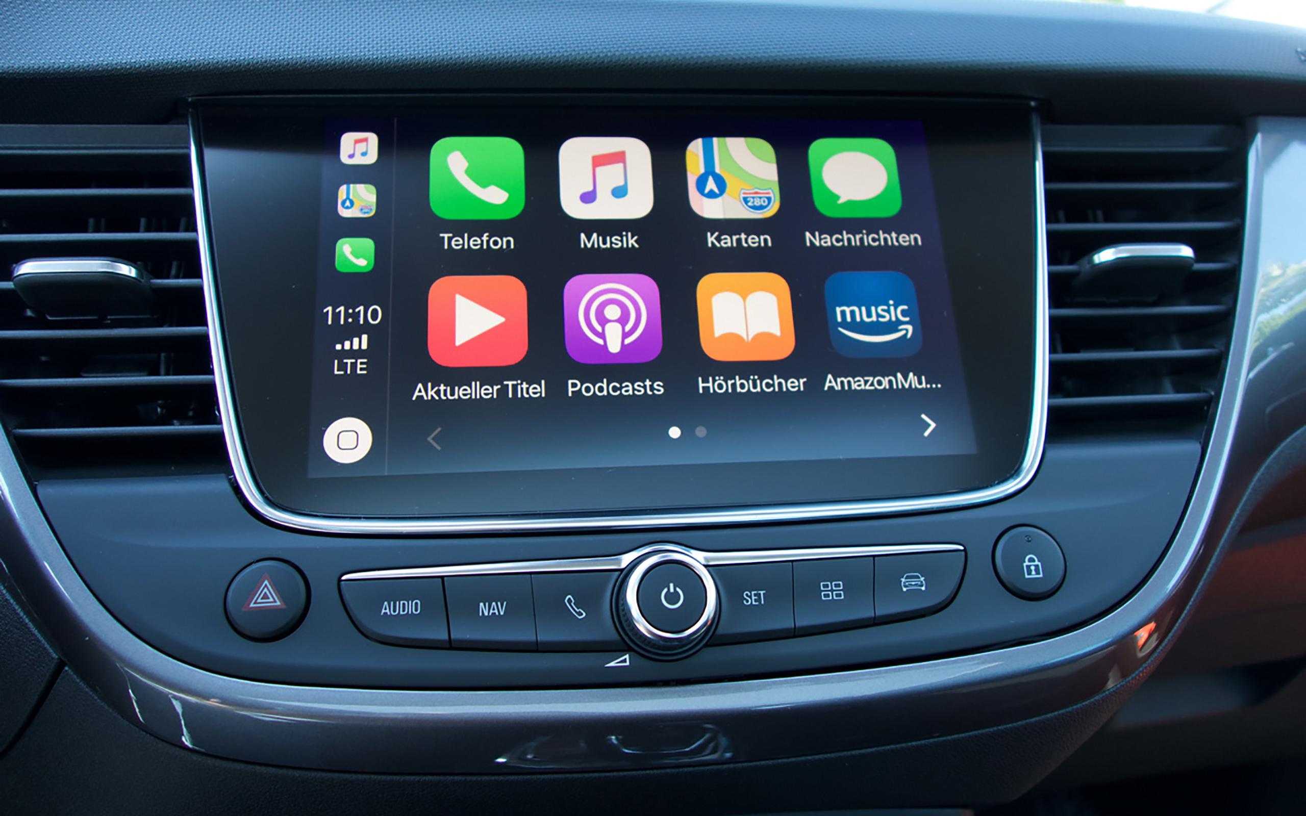 Apple CarPlay im Opel Crossland X.
