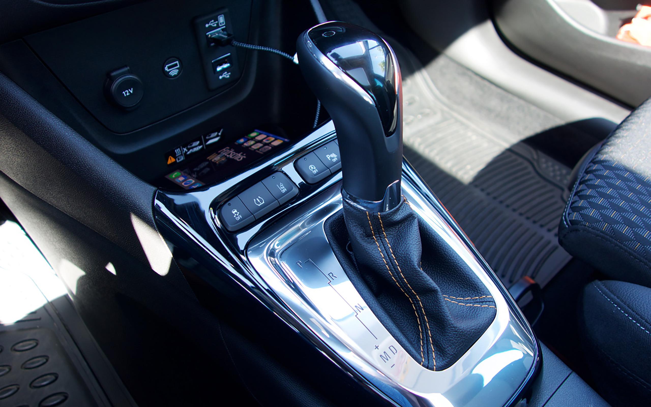6-Stufen-Automatikgetriebe.