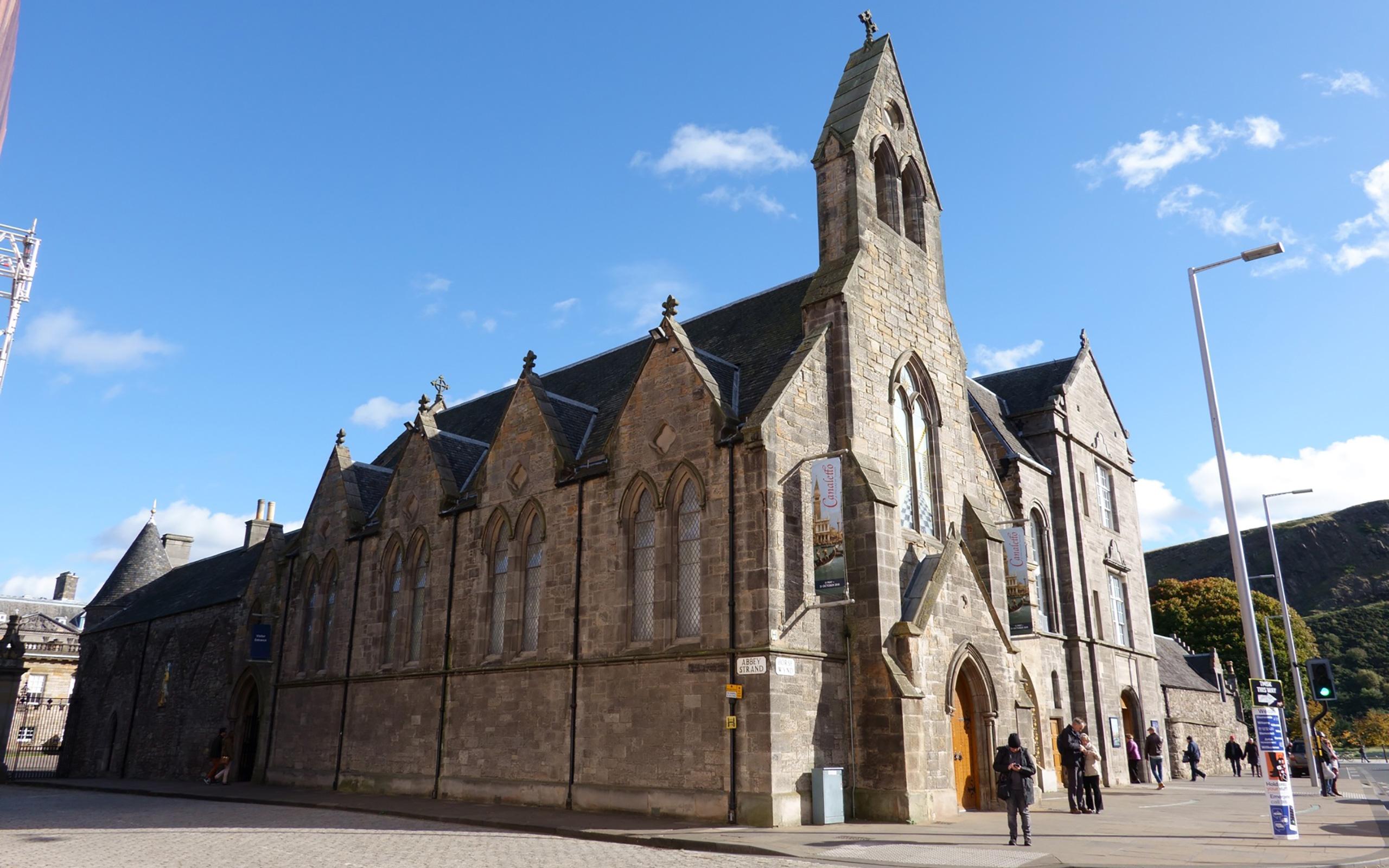 Holyrood Abbey in Edinburgh.