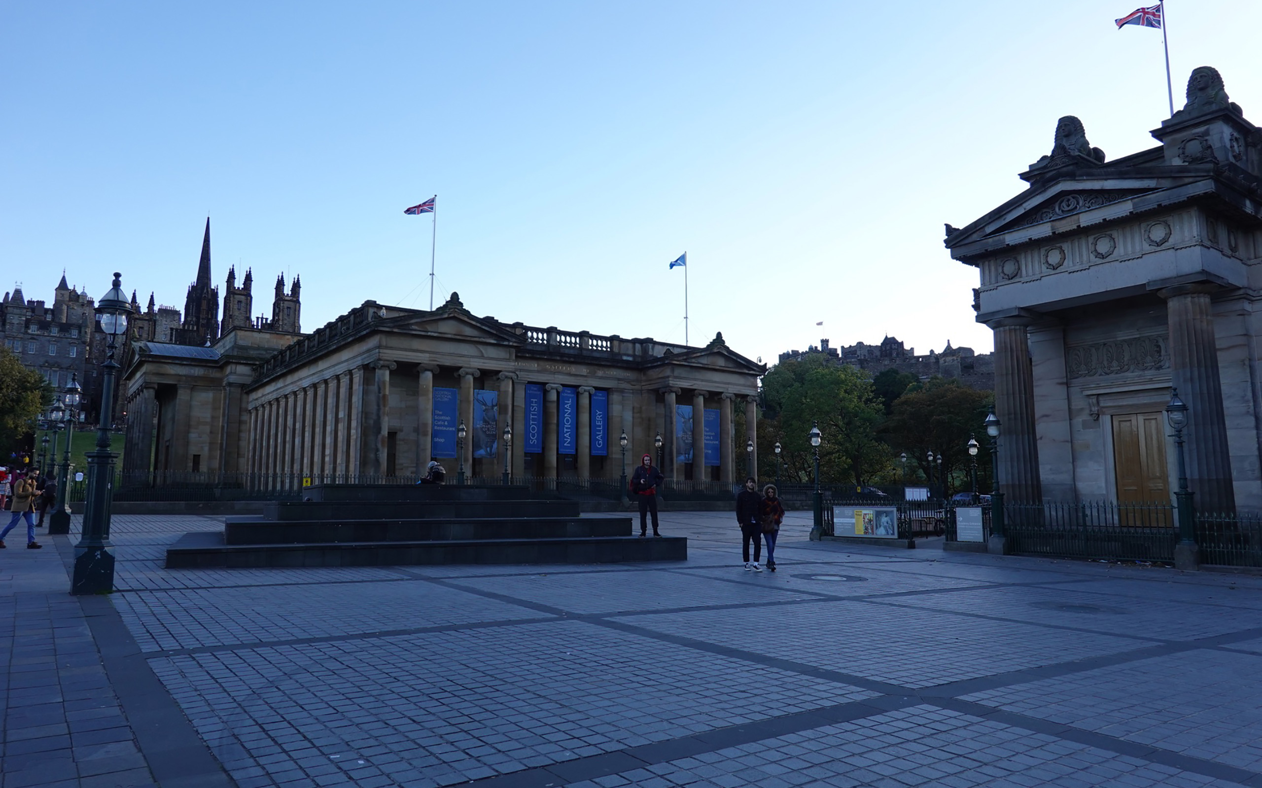Die Schottische Nationalgalerie.