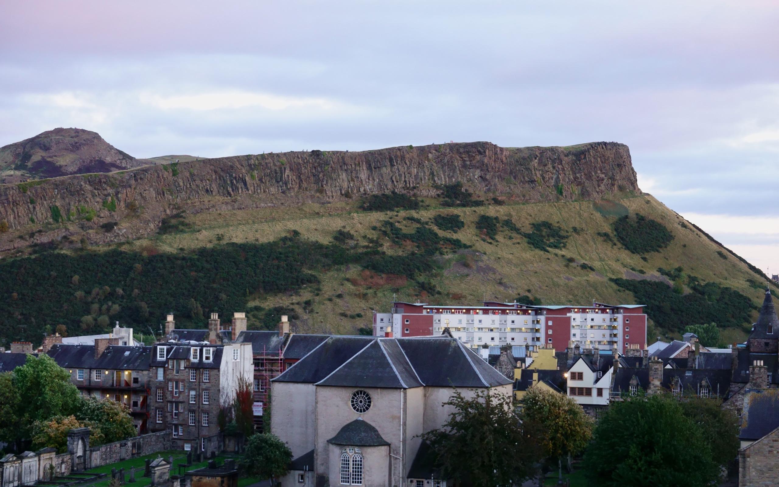 Arthur's Seat in Edinburgh.