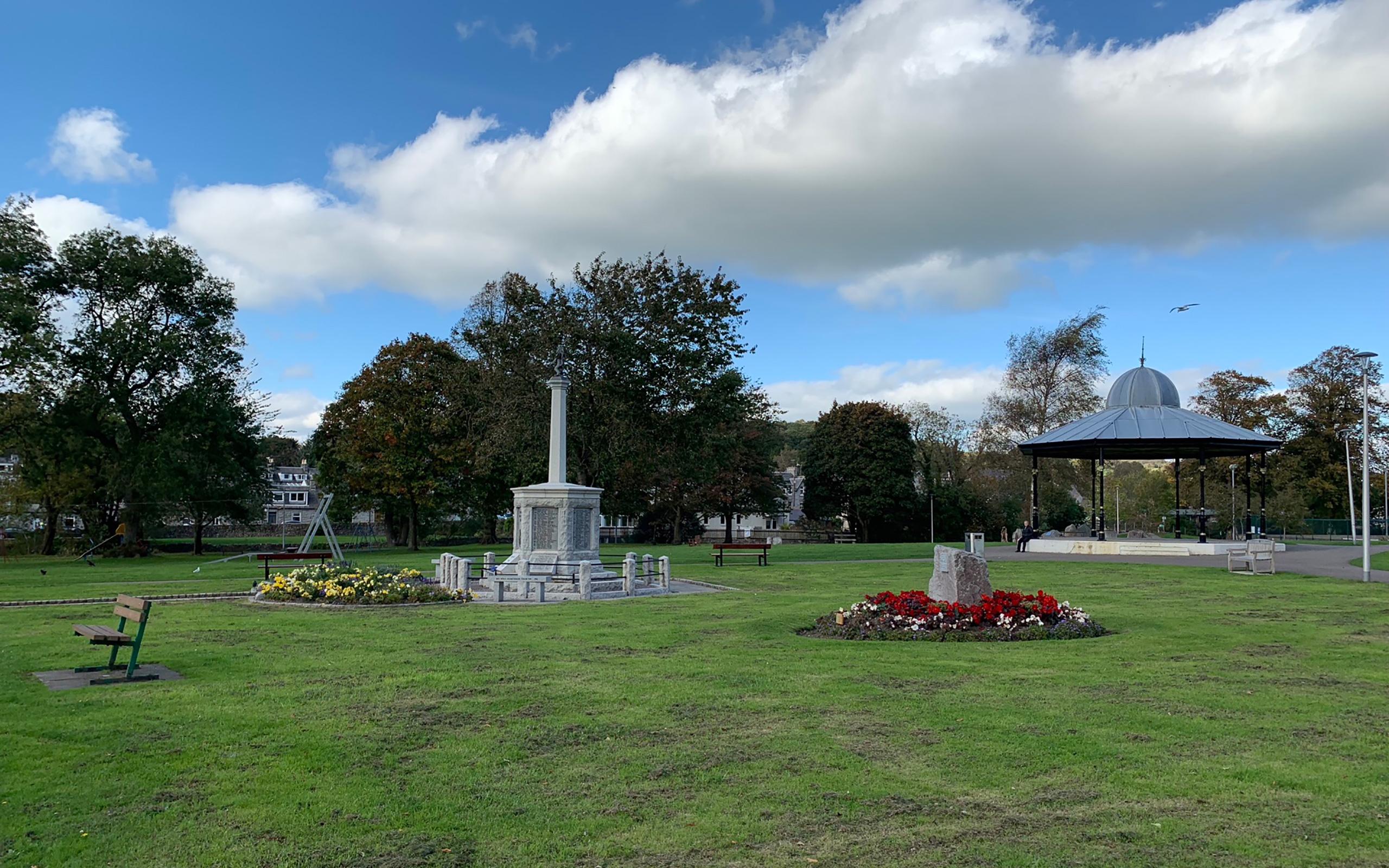 Der Park von Dalbeattie.