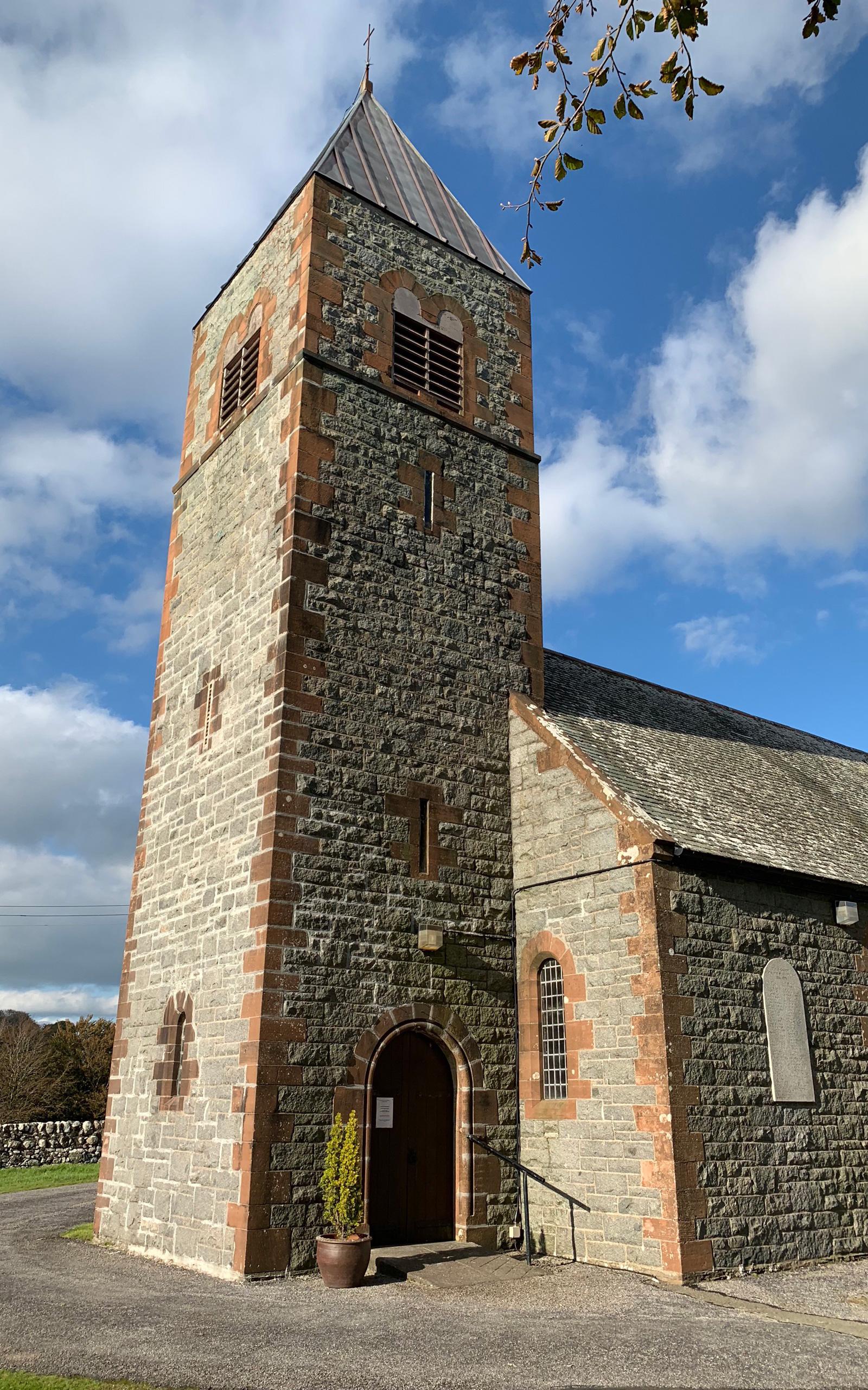 Colvend Parish Church in Dalbeattie.