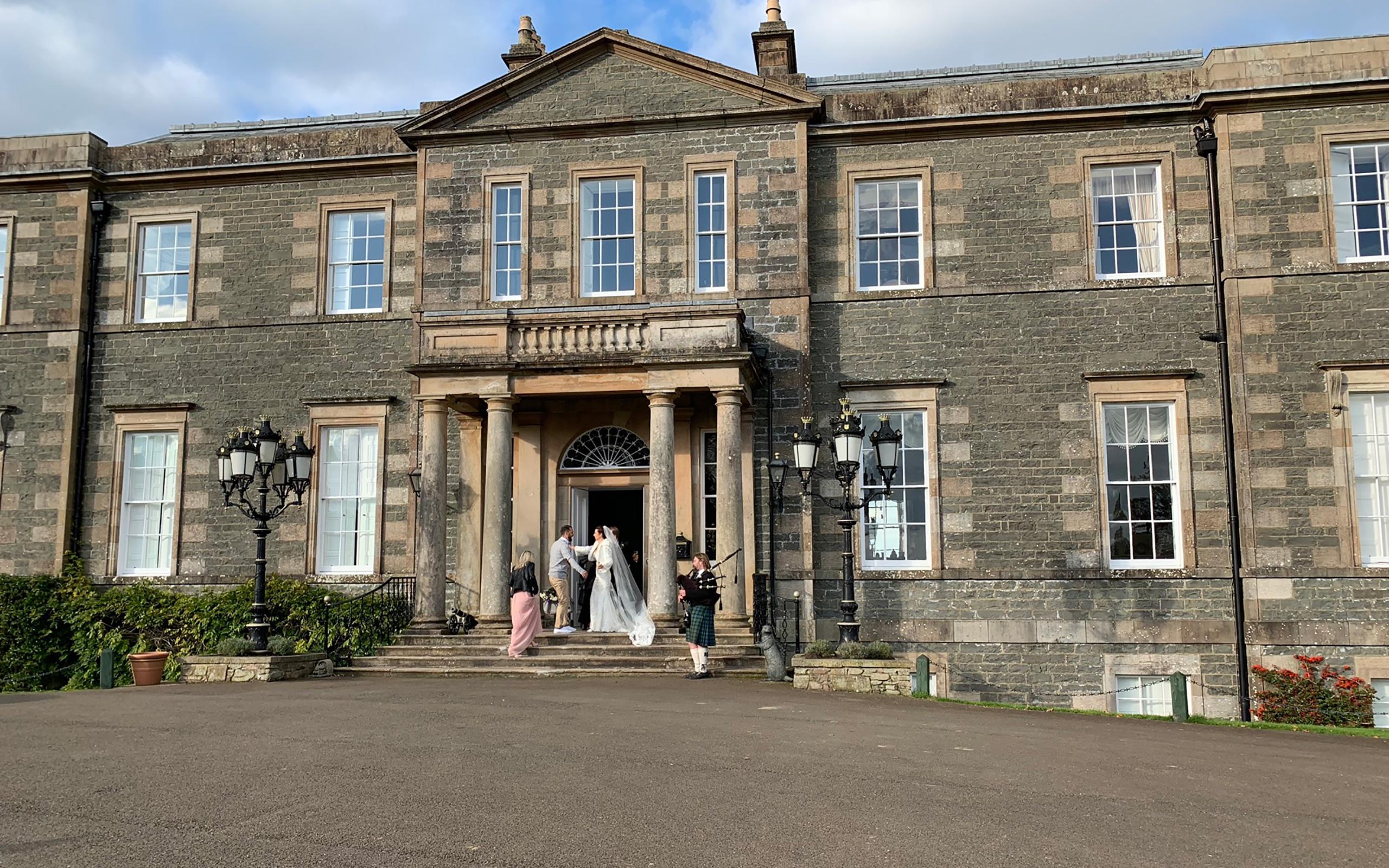 Agrennan Manor House in Castle Douglas.