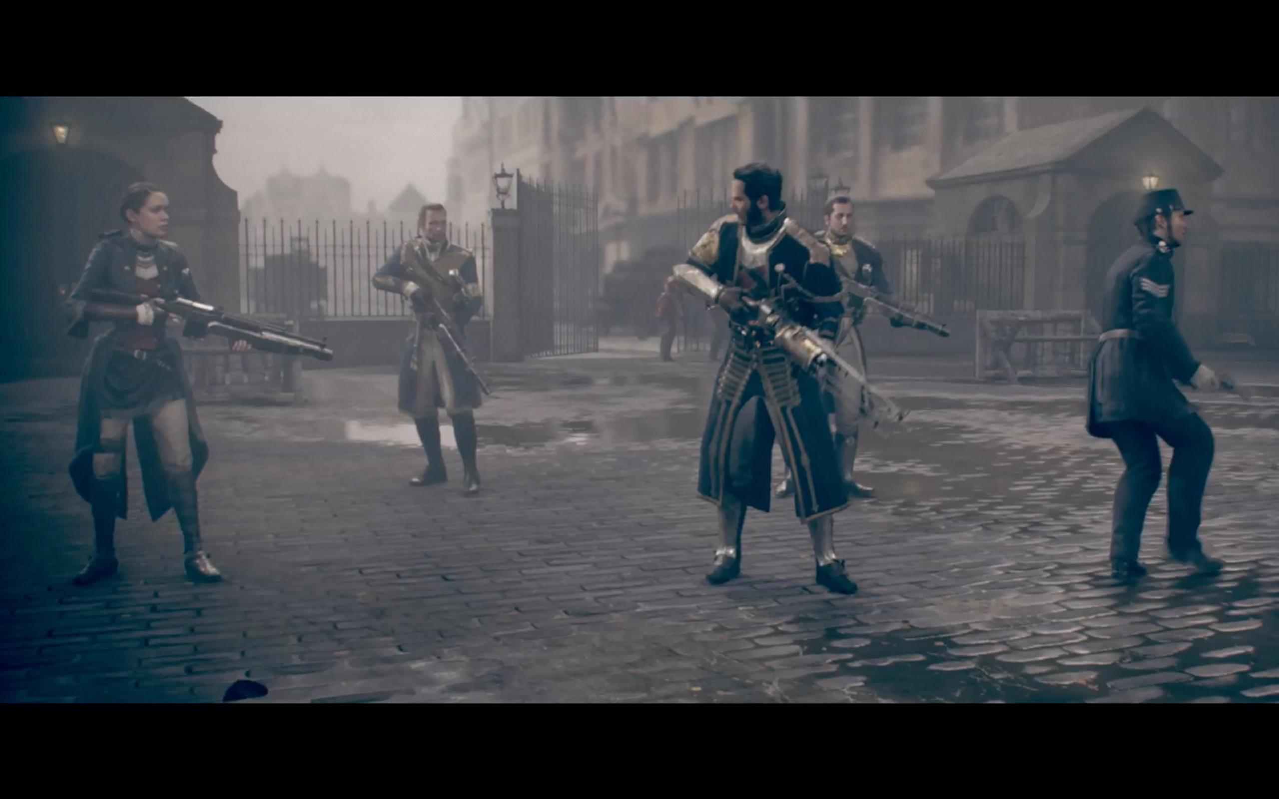 Die Ritter des Ordens in Aktion.
