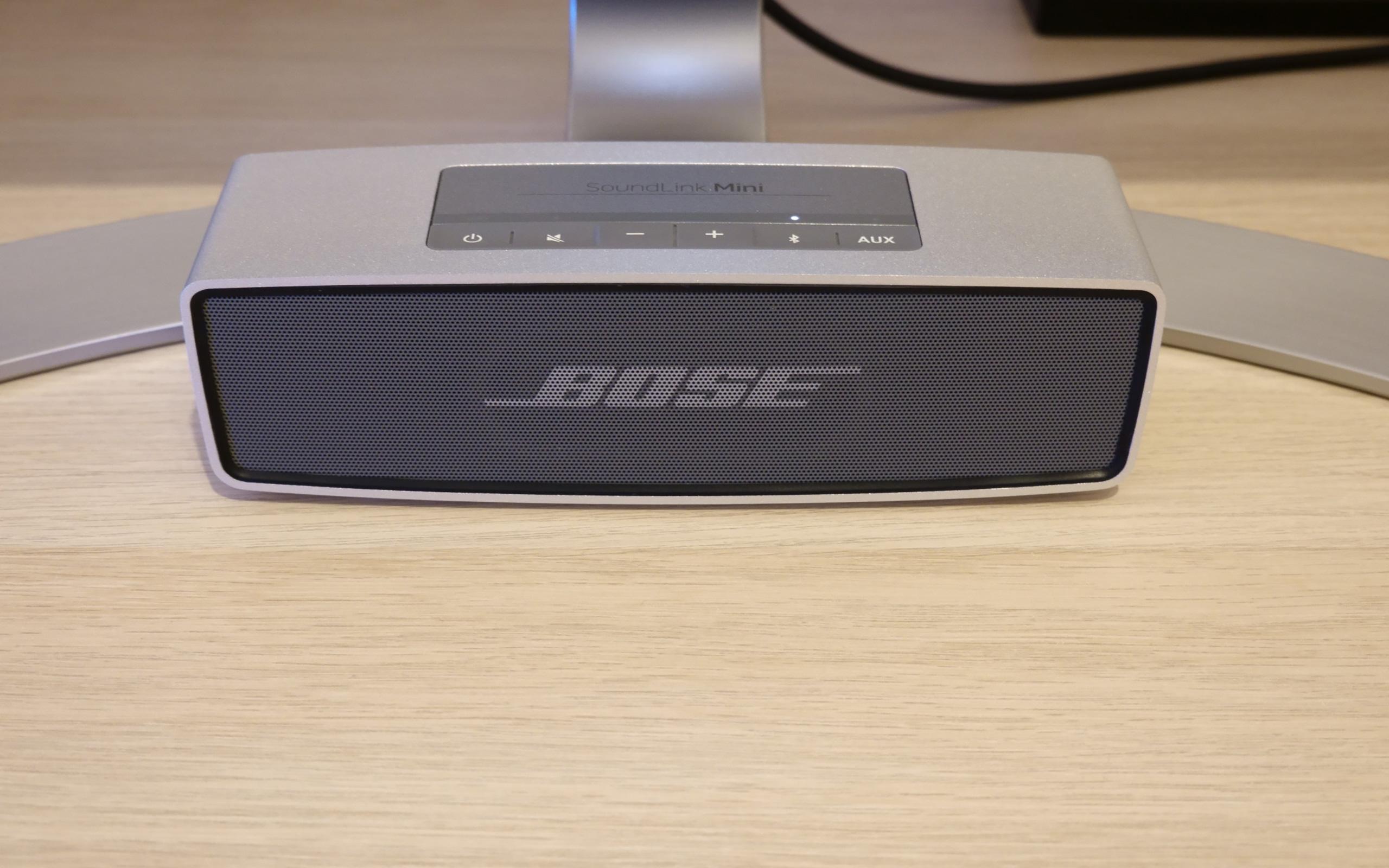 Satter Sound über Bluetooth: Bose SoundLink Mini.