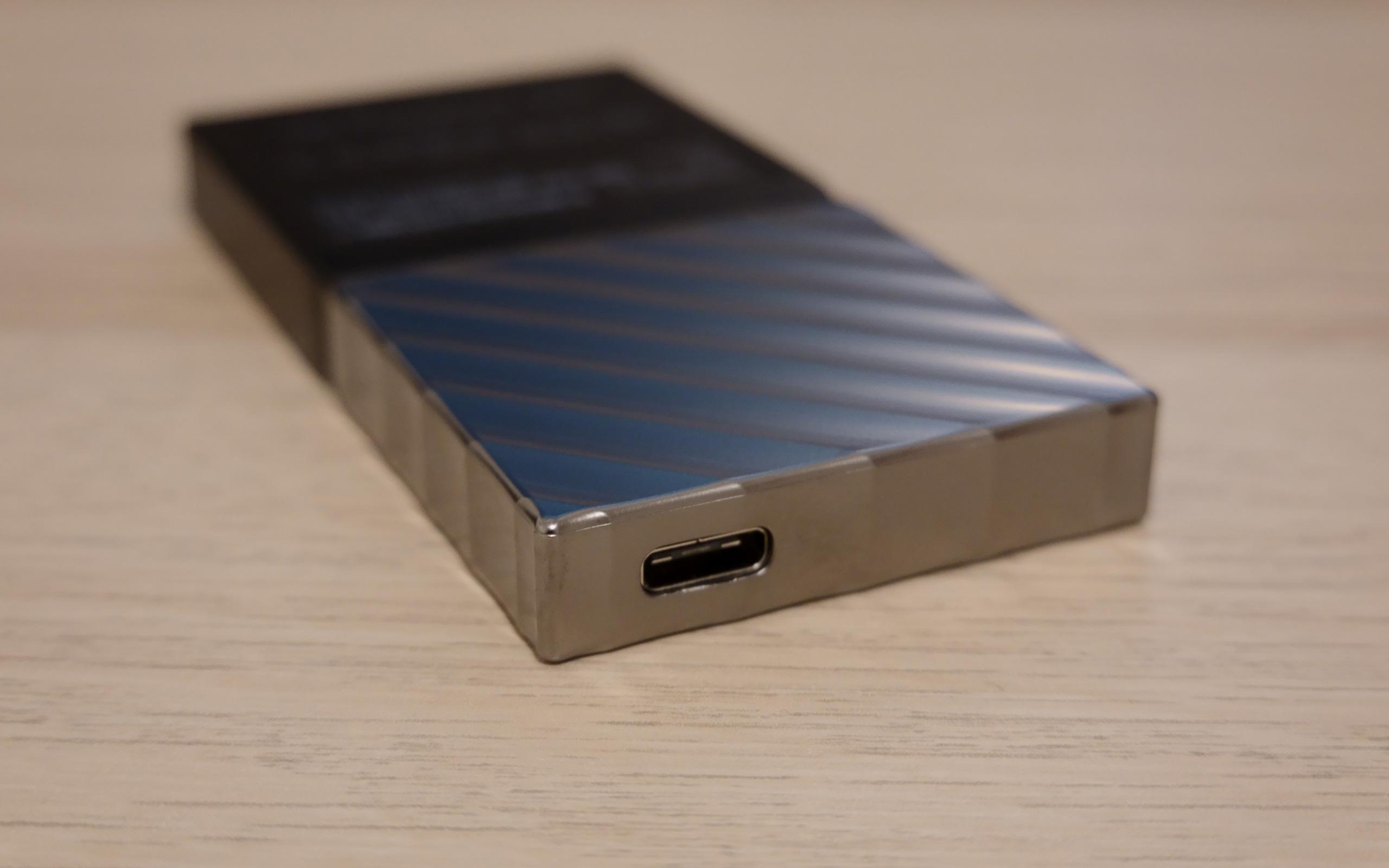 Mobile SSD mit USB-C.