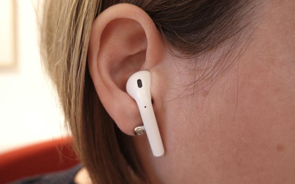 Apple AirPods Tragekomfort