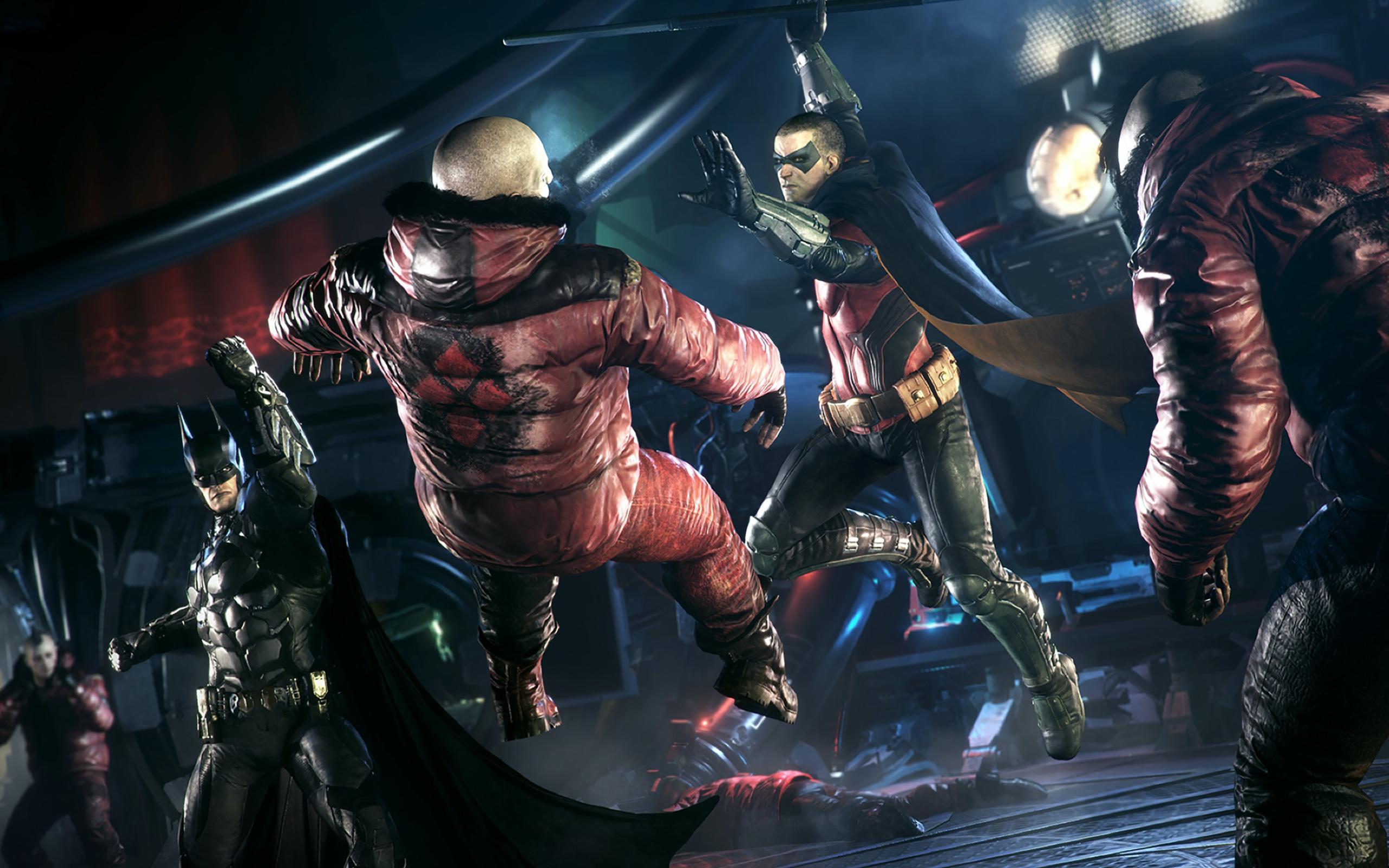 Im Team-Battle bekommt Batman unter anderem Unterstützung von Robin.
