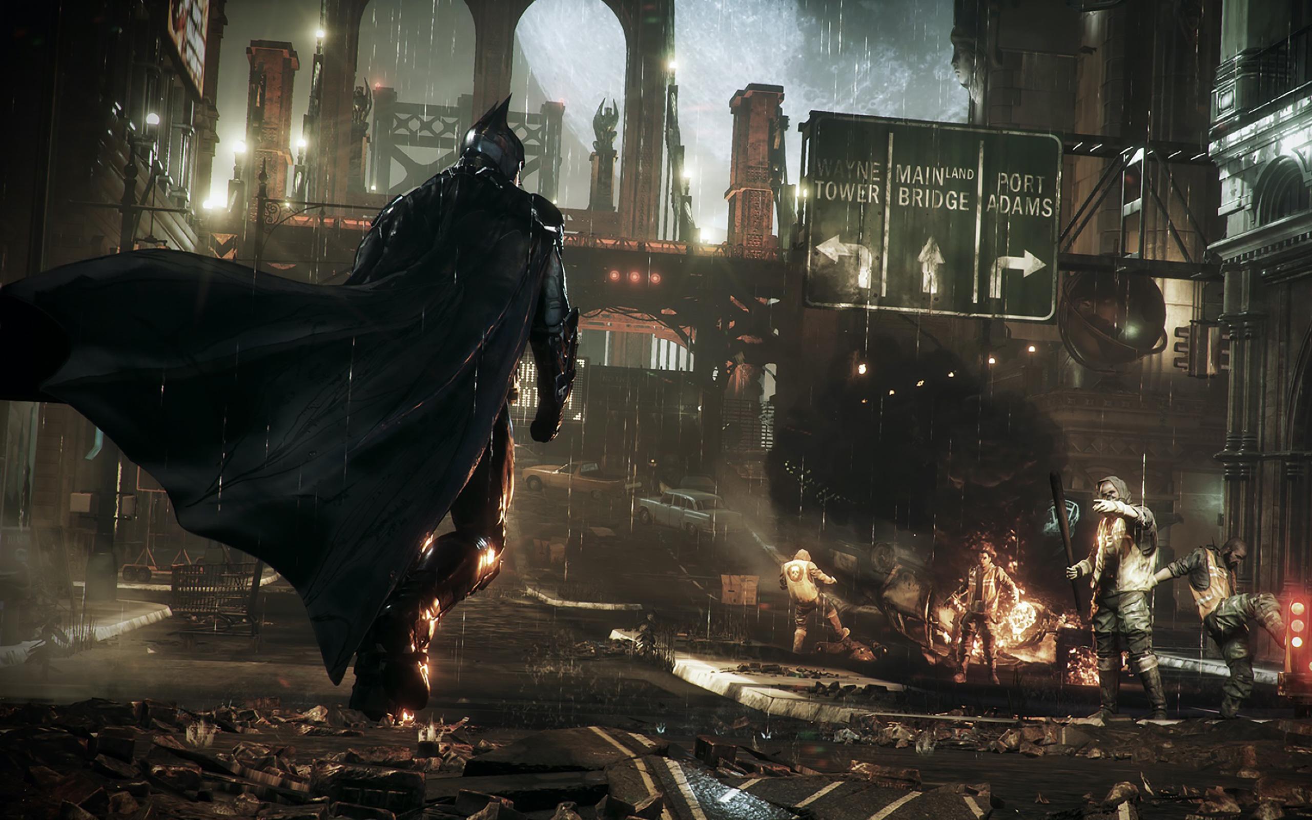 Chaos, Angst und Schrecken breiten sich in Gotham City aus.