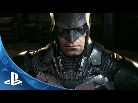Official Batman: Arkham Knight – Batmobile Battle Mode Gameplay footage | E3 2014 | PS4