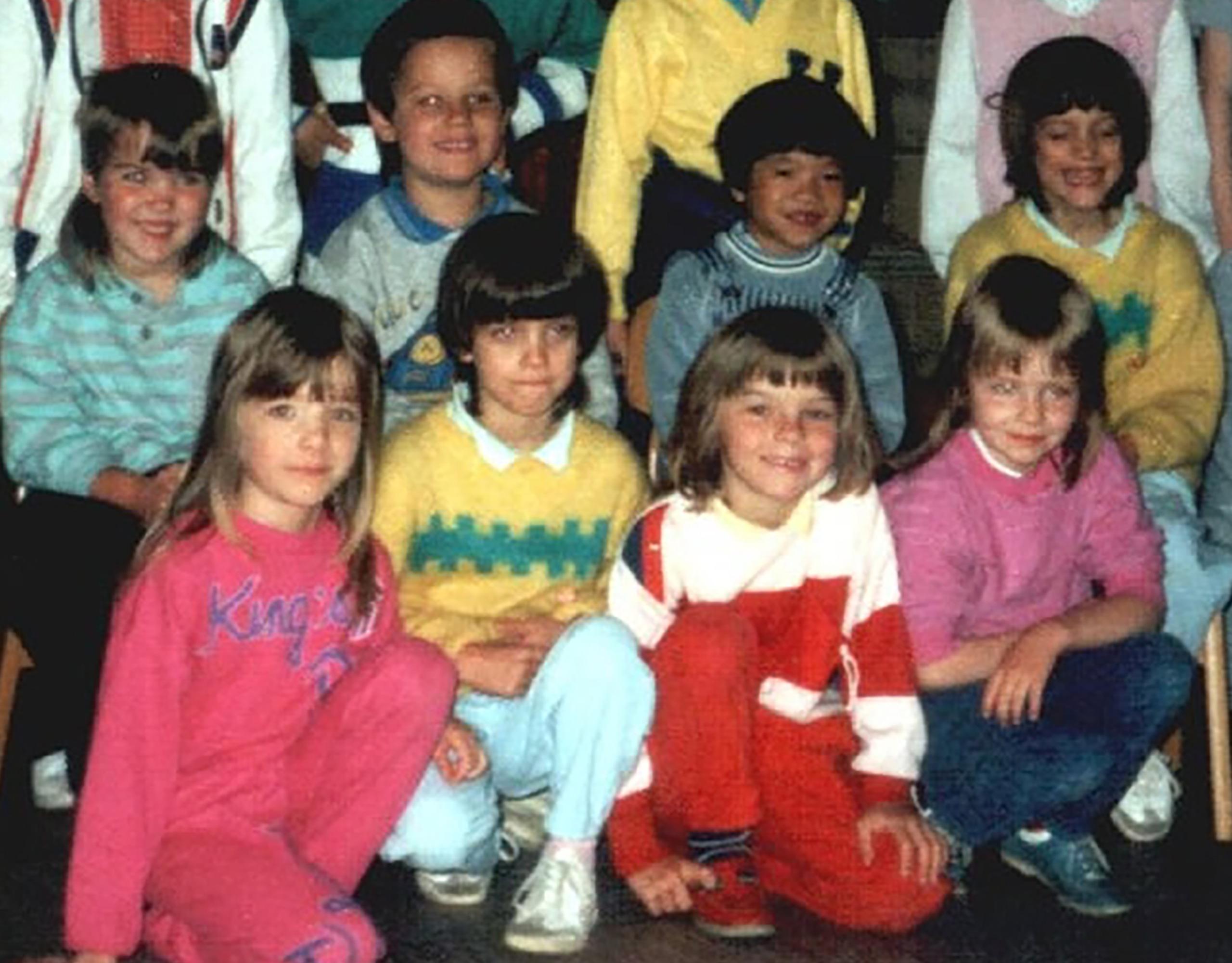 Denise & Nadine im Kindergarten