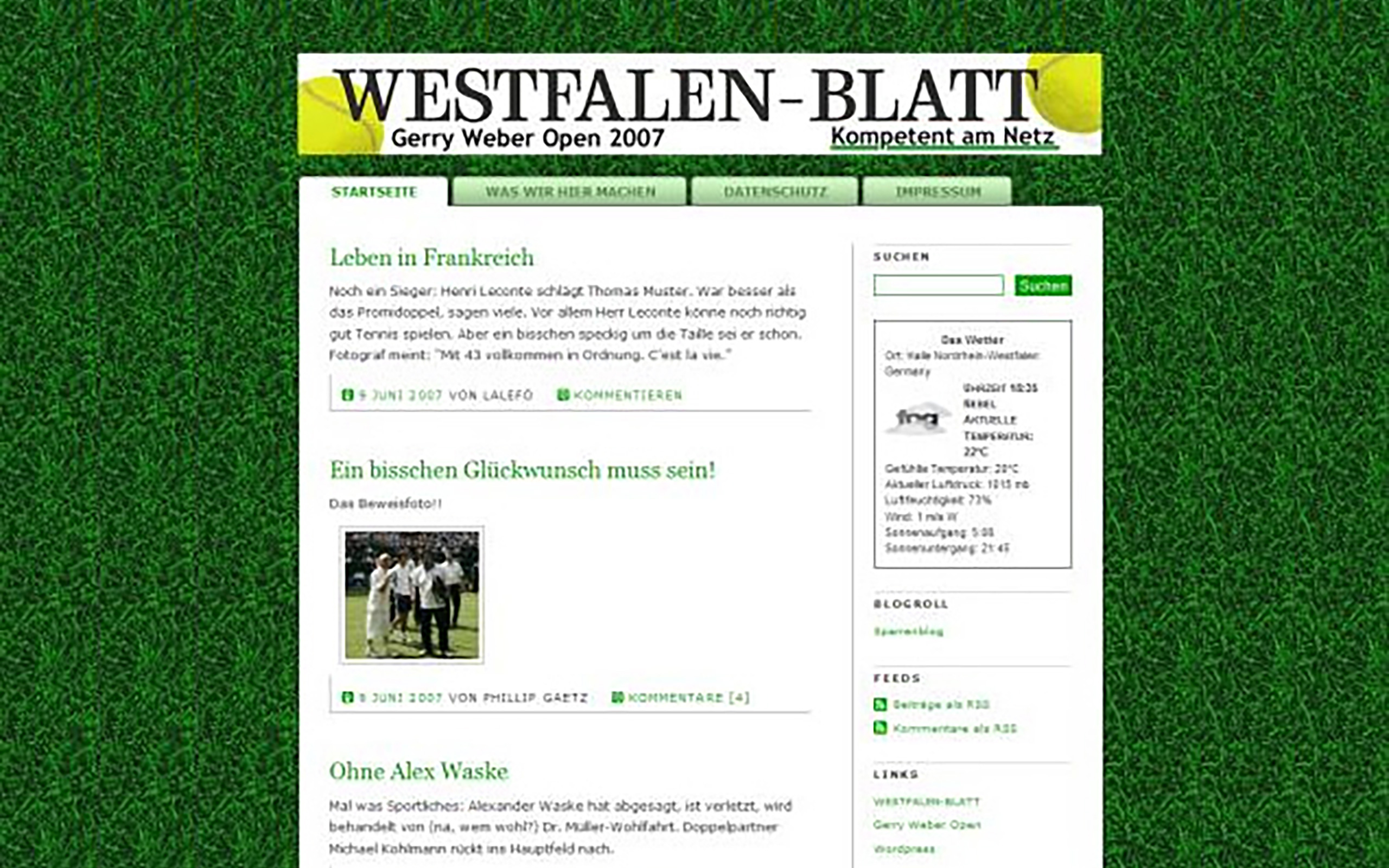 Westfalen-Blatt Gerry Weber Open