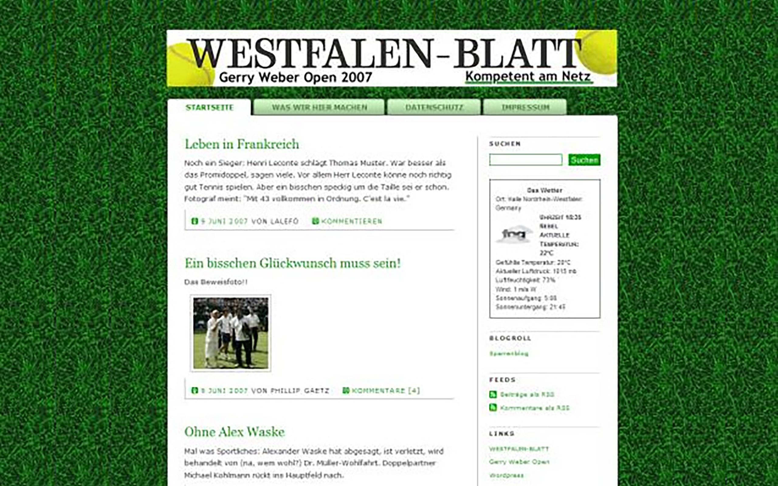 Westfalen-Blatt Gerry Weber Open