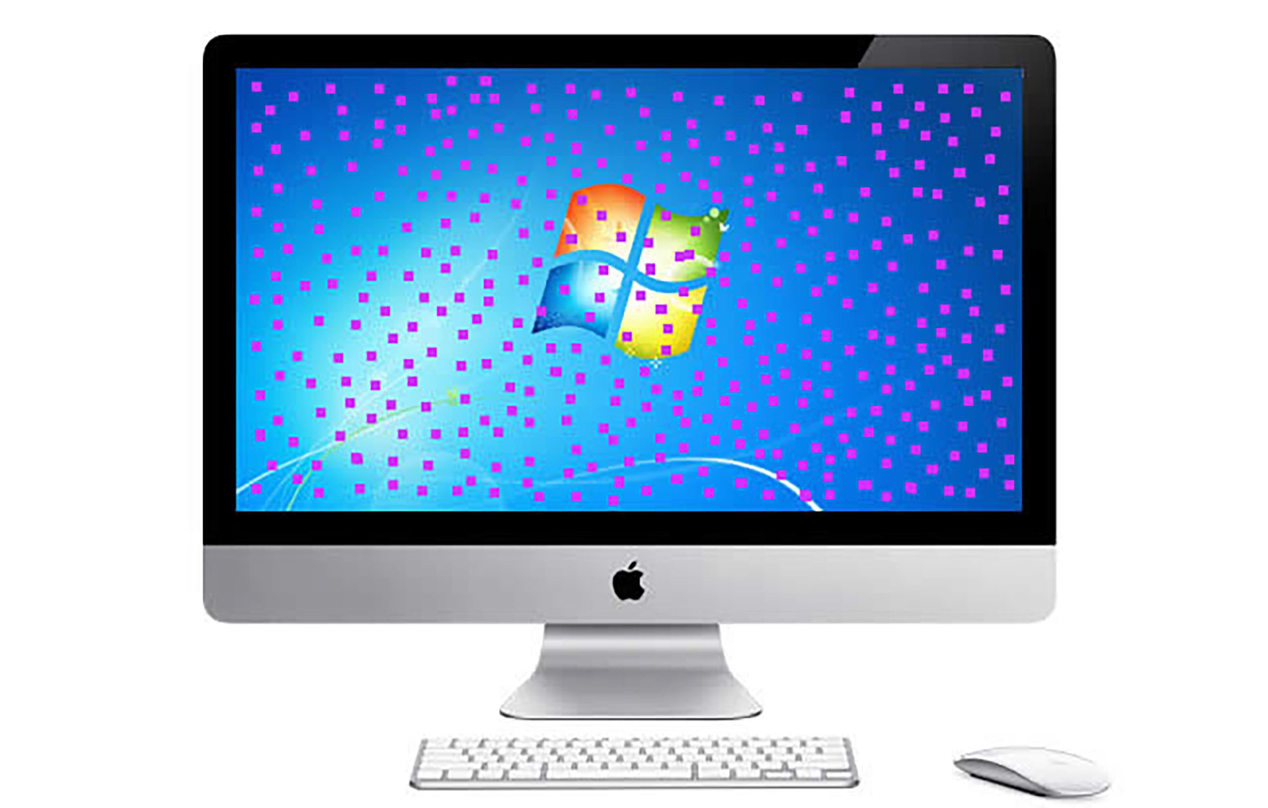 Apple iMac Grafikfehler