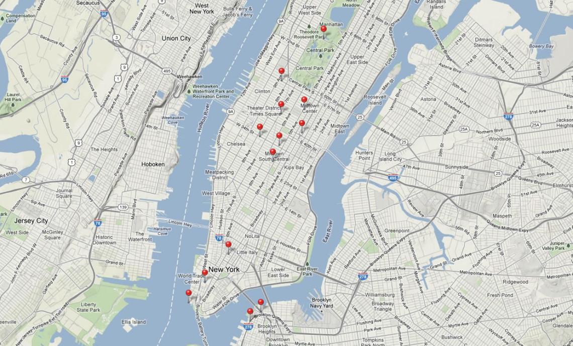 Unsere Tour durch New York City