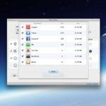 Liste der zu löschenden Dateien in Apps.