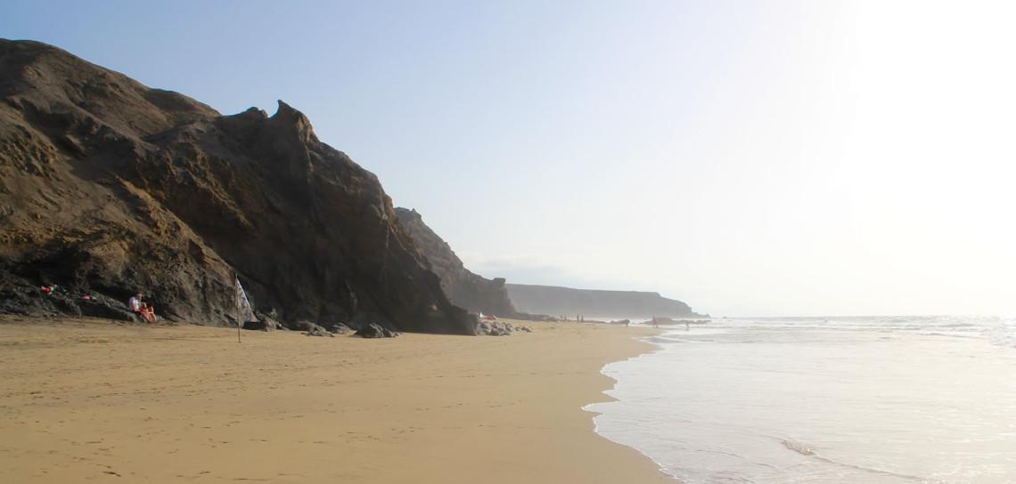 Der Strand von La Pared.