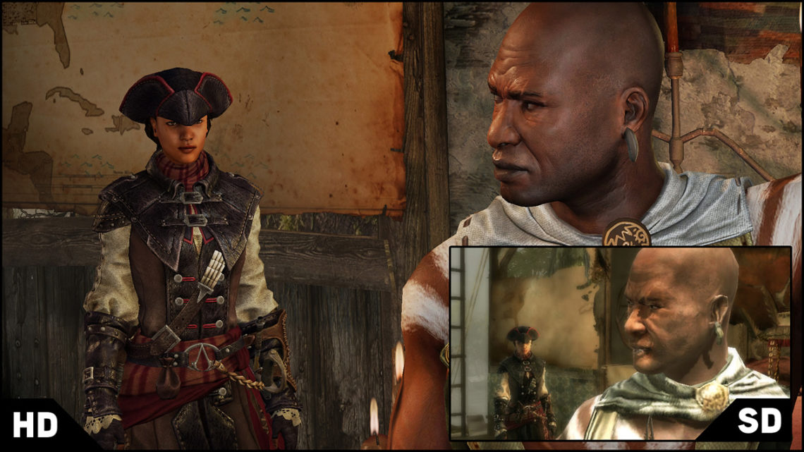 Assassin's Creed Liberation HD: Grafikvergleich auf gamespot.com